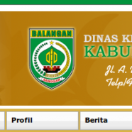 Project: Dinas Kesehatan Kabupaten Balangan