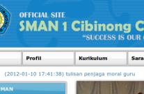 Project: SMAN 1 Cibinong Cianjur