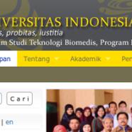 Project: Program Pasca Sarjana Teknologi Biomedis Universitas Indonesia